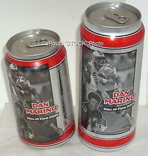 DAN MARINO PITT PANTHER-MIAMI DOLPHIN SPORT HALL FAME BEER CAN NFL-NCAA FOOTBALL