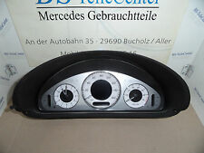 Mercedes CLK W209 Avantgarde UK Tacho Kombiinstrument Cockpit Benzin 2095409611