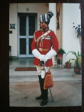 POSTCARD PRESIDENT BODYGUARD OF INDIA 1995 - THE COMMANDANT COLONEL D C KATOCH