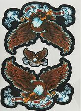 Aufkleber Decal Sticker American Eagle Adler Truck Car Chopper Biker MC Neu+OVP