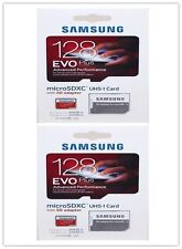 2PC Samsung EVO Plus 128GB UHS-1 Class 10 80MB/s Micro SD SDXC Memory Card 128G: