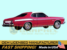 1975 Plymouth Duster 360 Decal & Stripe Kit