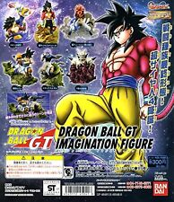 Capsule Toys Gashapon Hg Dragon Ball Gt Imagination Figure 6 Pics Set