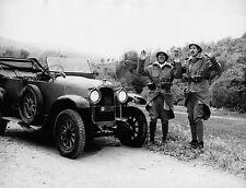 Photo originale Franco Franchi Ciccio Ingrassia automobile Armiamoci e partite
