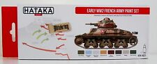 Hataka HTK-AS21 Early WW2 French Army 8 colour paint set
