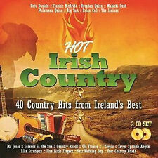 HOT IRISH COUNTRY - 40 COUNTRY HITS FROM IRELANDS BEST 2 CD SET