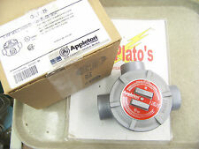 "Appleton GRT125 1-1/4"" Mall Iron GR Conduit Outlet Box explosion / dust proof"