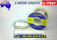 Sanki Solder 0.3mm 2 Meter Length 60% tin 40% lead resin core
