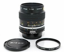 NIKON MICRO-NIKKOR 55mm f2.8 Ai-S LENS!! EXCELLENT PLUS COND!! 90-DAY WARRANTY!!
