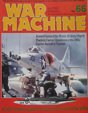 War Machine Issue 66 Carrier Aircraft of the 1960s, Vought F08 Crusader cutaway