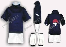 Custom-made Naruto Sasuke Uchiha 1st Halloween Christmas Cosplay Dress Costume