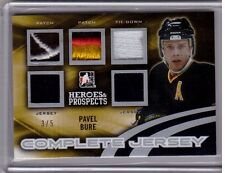 PAVEL BURE 15/16 Leaf Heroes Prospects Complete Jersey Patch Tie-Down /5 Canucks