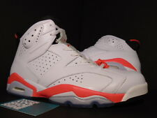 2014 Nike Air Jordan VI 6 Retro WHITE INFRARED PINK BLACK RED 384664-123 11