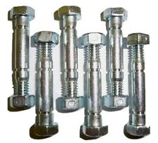 6 Pack Shear Pins Nuts fit 510015 51001500 AM136890 AM122156 3285-11 Snowblower