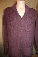 Luxus 100% Baumwolle Pullover Strickjacke Cardigan von CAMPUS 1972 Gr.50-52 L
