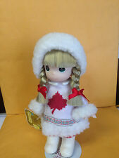 PRECIOUS MOMENTS 'CHILDREN OF THE WORLD DOLL' CANADA / SYLVIE # 1541 W/ TAGS