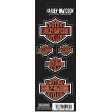 Harley-Davidson Bar and Shield Decals 5 Decal Set