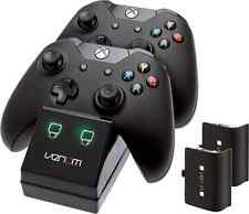 Xbox One Controller Twin Docking Charger Station 2 x Rechargeable Battery Pack