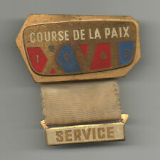 Orig.part.pin   XVI.Course de la Paix / Peace Race 1963  -  SERVICE  !! RARITY
