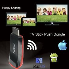 TV STICK PUSH GOOGLE CHROMECAST DONGLE HD USB Miracast Airplay DLNA MEDIA PLAYER