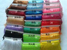 """2Y 6"""" Tassel Fringe Lace Trim Curtain 15CM Wide 29 Colors"""