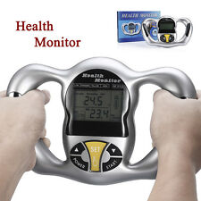 Handheld Digital Body Fat Health Tester Monitor Analyzer BMI Meter Calculator
