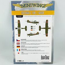 1/144 Cessna Bird Dog L-19E Japan JGSDF - Miniwing 304 - Plastic Kit