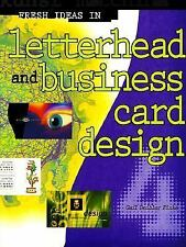 Letterhead and Business Card Design 4 by Gail Deibler Finke (1999, Hardcover)