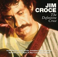 Jim Croce DEFINITIVE Best of 34 Classic Songs ESSENTIAL COLLECTION New 2 CD
