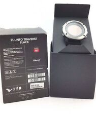 Suunto Traverse Black Watch - Stainless Steel Bezel SS021843000 GPS