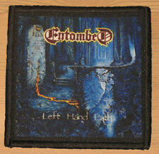 "ENTOMBED ""LEFT HAND PATH"" silk screen PATCH"