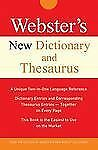 Webster's New Dictionary and Thesaurus (Custom)