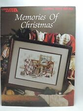 Paula Vaughan Memories of Christmas Cross Stitch Pattern Leaflet 904 Book 34