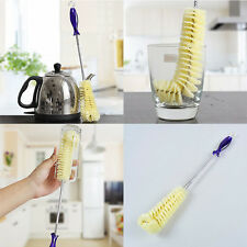 Long Handle Flexible Bottle Cleaning Brush Kitchen Thermos Teapot Cleaner Tool