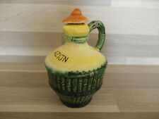 Vintage ceramic vinegar cruet little jug