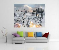 STAR WARS AT-AT BATTLE OF HOTH GIANT WALL ART PICTURE PRINT POSTER G59