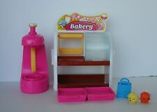 Shopkins Bakery Playset Stand Kids Girls Shopping Game Toy 2 exclusive Shopkins