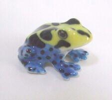* High Quality Handmade Animal Miniature Ceramic Frog Figurine - Mini *