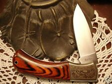 Rough Rider VHTF Fancy Lockback Gorgeous Scrolled Work Collector Knife