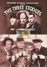 old postcards THE THREE STOOGES moe larry curley selling medicine picture only