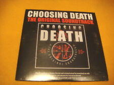 cardsleeve Full CD CHOOSING DEATH The Original Soundtrack PROMO COMPILATION 20TR