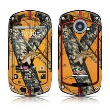 Casio G'zOne Commando Skin Cover Case Decal Orange Hunters Camo
