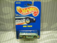 1991 HOT WHEELS  #89 = MINI TRUCK = TURQOISE  ultra hot rims