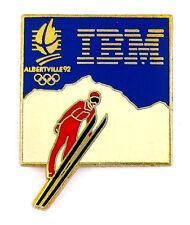 PINS SPORT JEUX OLYMPIQUES ALBERTVILLE 1992 SAUT A SKI