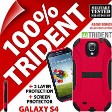 New Trident Aegis Protective Hard Case Rugged Cover for Samsung i9500 Galaxy S4