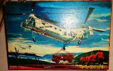 """VINTAGE(EARLY 50s)  HELICOPTERS FOR INDUSTRY: PIASECKI H-21 """"WORKHORSE"""" ~1/48"""