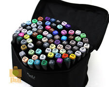 NEW Touch Three 80 Color SET Twin Tip GRAPHIC ART MARKER PENS Landscape Design