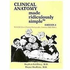 Clinical Anatomy Made Ridiculously Simple 4th Int'l Edition