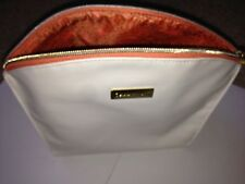 CHAMPNEYS WHITE ORANGE MAKE UP TOILETRY BAG NEW