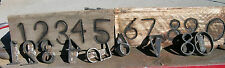 """CUSTOM MADE BRANDING IRONS NUMBER SETS YOUR SPECS 3/4 TO 5"""" STARTING AT 29.99"""